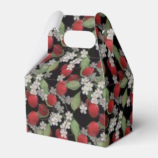 Caixinha Bagas vermelhas, cereja