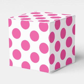 Caixinha Bolinhas cor-de-rosa