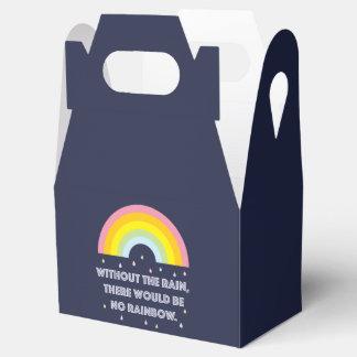 Caixinha Citações inspiradas e inspiradores do arco-íris