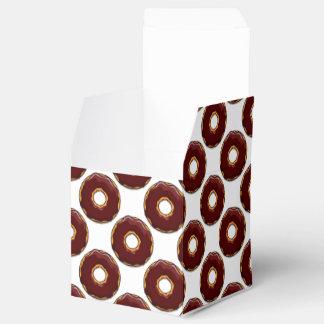 Caixinha De Lembrancinhas 1 design da rosquinha do chocolate dos desenhos