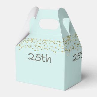 Caixinha De Lembrancinhas 25o Confetes do aniversário