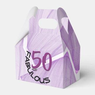 Caixinha De Lembrancinhas 50 e tema roxo & preto de   fabuloso do
