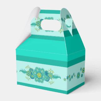 Caixinha De Lembrancinhas A cerceta bonito floresce a peça central & as