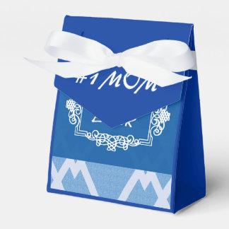 Caixinha De Lembrancinhas A melhor mamã dos azuis marinhos customizáveis