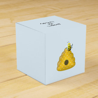 Caixinha De Lembrancinhas Abelha legal com colmeia da abelha