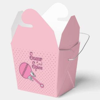Caixinha De Lembrancinhas Açúcar e especiaria