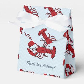 Caixinha De Lembrancinhas Algum obrigado da fervura da lagosta da ocasião