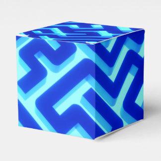 Caixinha De Lembrancinhas Azul do labirinto
