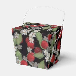 Caixinha De Lembrancinhas Bagas vermelhas, cereja