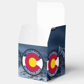 Caixinha De Lembrancinhas Bandeira da circular de Colorado