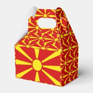 Caixinha De Lembrancinhas Bandeira de Macedónia