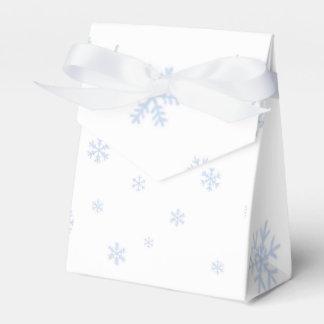 Caixinha De Lembrancinhas Bokes dos flocos de neve