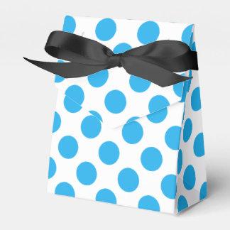 Caixinha De Lembrancinhas Bolinhas azuis