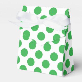 Caixinha De Lembrancinhas Bolinhas verdes