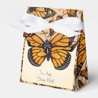 Caixinha De Lembrancinhas Borboleta de monarca personalizada