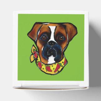 Caixinha De Lembrancinhas Cão Cinco de Mayo do pugilista