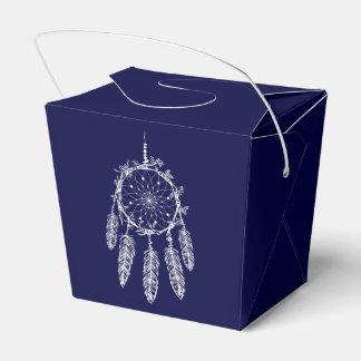 Caixinha De Lembrancinhas Casamento ideal do nativo americano dos azuis