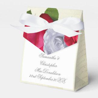 Caixinha De Lembrancinhas Casamento romântico floral da flor da rosa