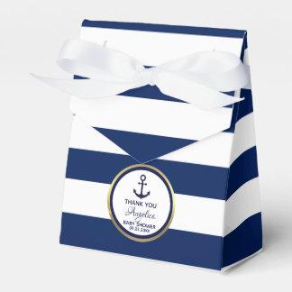 Caixinha De Lembrancinhas Chá de panela náutico personalizado dos azuis