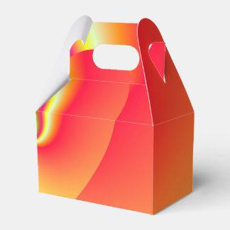 Caixinha De Lembrancinhas Coração do amor do redemoinho do arco-íris