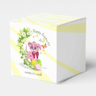 Caixinha De Lembrancinhas Desenhos animados do filhote de cachorro do nariz