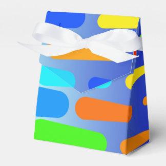 Caixinha De Lembrancinhas Design colorido do abstrato das formas