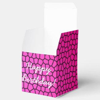 Caixinha De Lembrancinhas Design do impressão do cobra do feliz aniversario
