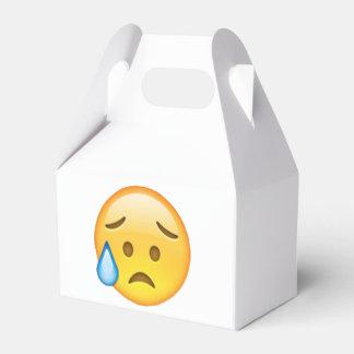 Caixinha De Lembrancinhas Disappointed mas aliviado - Emoji