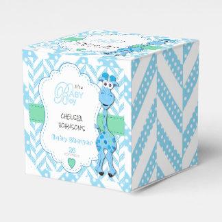 Caixinha De Lembrancinhas É um menino - girafa dos azuis bebés - chá de