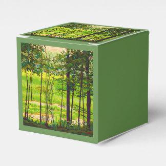 Caixinha De Lembrancinhas Escondido além do verde