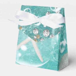 Caixinha De Lembrancinhas Estrela do mar do mar & praia Enchanted cerceta do