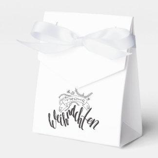 Caixinha De Lembrancinhas Feliz Natal - Handlettering