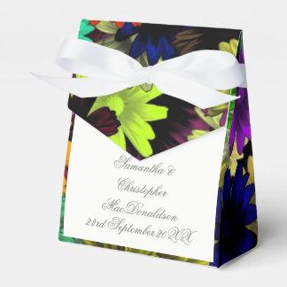 Caixinha De Lembrancinhas Flores coloridos coloridas que wedding