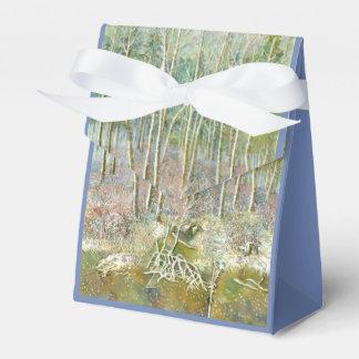 Caixinha De Lembrancinhas floresta do inverno
