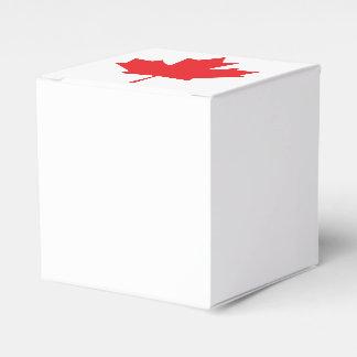 Caixinha De Lembrancinhas Folha de bordo canadense