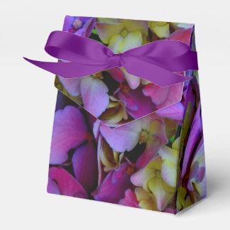 Caixinha De Lembrancinhas Hydrangeas roxos românticos