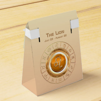 Caixinha De Lembrancinhas LEO - o sinal do zodíaco do leão