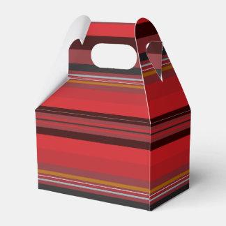 Caixinha De Lembrancinhas Listras - horizonte vermelho