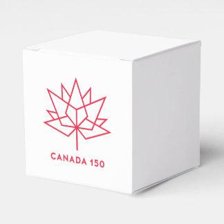 Caixinha De Lembrancinhas Logotipo do oficial de Canadá 150 - esboço