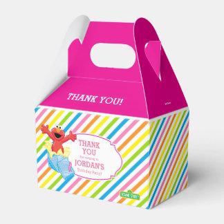 Caixinha De Lembrancinhas Meninas do Sesame Street | Elmo - obrigado do