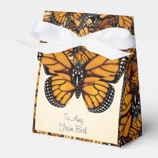 Caixinha De Lembrancinhas Migração personalizada da borboleta de monarca