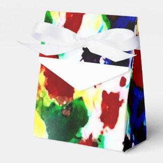 Caixinha De Lembrancinhas Motivo do respingo do arco-íris pelo design de