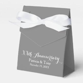 Caixinha De Lembrancinhas O aniversário de casamento personalizou - a cor da