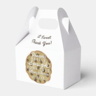 Caixinha De Lembrancinhas O biscoito dos pedaços de chocolate do casamento