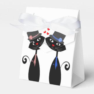 Caixinha De Lembrancinhas O gato legal do casamento gay prepara o casamento
