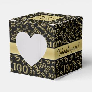 """Caixinha De Lembrancinhas """"Obrigado"""": 100th Ouro da festa de"""