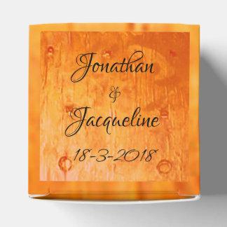 Caixinha De Lembrancinhas Ocasião de cobre chique elegante dos casamentos da