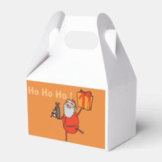 Caixinha De Lembrancinhas Papai Noel e um rato que guardara um presente