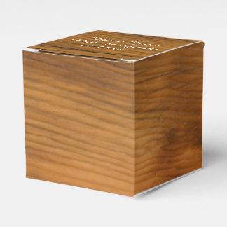 Caixinha De Lembrancinhas Partido da madeira do celeiro do falso