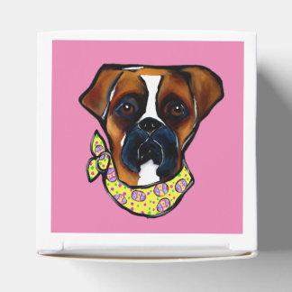 Caixinha De Lembrancinhas Páscoa do cão do pugilista
